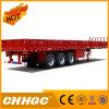 Cargo de Chhgc 3axle/semi-remolque de la cerca con la pared lateral
