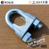 鋳造DIN 741の可鍛性クロスワイヤーロープクリップ