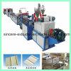 Feuille décorative de voie de garage de PVC faisant la chaîne de production de panneau de mur de machine
