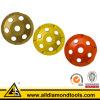 높은 작업 능률적인 콘크리트 PCD 가는 컵 바퀴