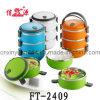 Casella calda di Tiffin di colore della guarnizione di conservazione dell'acciaio inossidabile (FT-2409)
