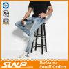 Mutanda normale dei jeans dello Spandex del cotone degli uomini su ordinazione di marca