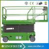 Levage automoteur de ciseaux de pile électrique de la CE/levage automoteur hydraulique de ciseaux