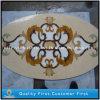 Mattonelle di pavimentazione dei medaglioni del marmo del getto di acqua