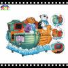 Conduite de Kiddie d'écran du bateau heureux a/B de panda