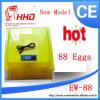 Mini complètement automatique Chicken Egg Incubator pour 88 Eggs (YZ-88)
