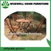 Conjunto de los muebles del jardín de madera sólida