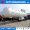 Del Tri-Árbol 56000L 25tons LPG del tanque acoplado semi con el visera de Sun
