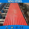 Hoja de acero acanalada prepintada Z120 de CGCC para el material para techos