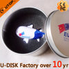 USB su ordinazione Disk di Gift Airplance con Tin Box (YT-1125)