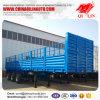 De Fabrikant 40-65t 3 van China de Semi Aanhangwagen van de Omheining van de Zijgevel van de As