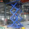 Table élévatrice hydraulique fixe de ciseaux