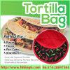 Micowave Tortilla bolsa, bolsa de Cocina