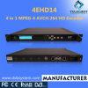 4ehd14 4 in 1 MPEG-4 AVC/H. 264 HD Encoder (4EHD14)