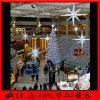 Luz branca de suspensão do diodo emissor de luz da decoração da alameda da estrela do Natal da forma