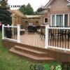 Plancher en bois en plastique antifissurant de Pwc de terrasse extérieure