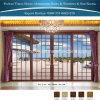 Portelli esterni di alluminio dei portelli interni di colore di legno di colore del teck
