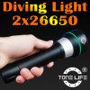 Tonelife Tl2300 Leistung-nachfüllbare 3000 Lumen 3 CREE LED Tauchens-Taschenlampe