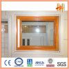 木Effect Surface Treatment (ZW-DW-004)とのDoorsそしてWindowsのためのアルミニウムProfiles、