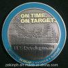 Metallo su ordinazione che timbra la moneta antica del nastro
