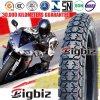 Câmara de ar da motocicleta e pneu mal ventilados 3.50-16