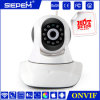Quente! ! 720p H. 264 1.0megapixel Coms PTZ Camera Mini Bluetooth Camera, Support até 32GB TF Card Storage