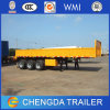 3 eixo 40ton Side Wall Semi Trailer para Multi-Usage