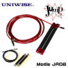 Red, Silver Fitness Equipment Crossfit Speed ​​Skipping Rope Jump Rope