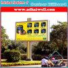 アフリカの移動式広告の掲示板の表示