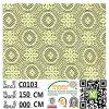 Fabbricato francese C0103 del merletto del poliestere del rifornimento della fabbrica