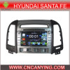 Reprodutor de DVD puro do carro do Android 4.4 para a tela de toque capacitiva GPS do processador central A9 de Hyundai Santa Fe 2006-2012 Bluetooth (AD-HY013)
