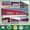 Edificio del taller de la estructura de acero de la luz del panel de pared del color rojo (XGZ-SSB088)