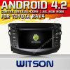 Witson Android 4.2 Car DVD pour Toyota RAV4 avec A9 l'Internet DVR Support du WiFi 3G de ROM du jeu de puces 1080P 8g