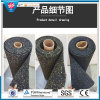 3mm-12mm starker Antibeleg Crossfit Gummifußboden-Matte in der Rollengymnastik-Bodenbelag-Matte