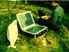 300W携帯用太陽充電器