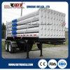 2半車軸18 CBM CNGの管の容器のトラックのトレーラー