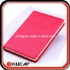 Cahier rouge cousu d'unité centrale de bord