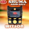 KIA Shuma (W2-D9513K)를 위한 Witson Car DVD Player
