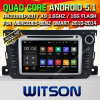 Carro DVD GPS do Android 5.1 de Witson para Mercedes-Benz 2010-2014 esperto com sustentação do Internet DVR da ROM WiFi 3G do chipset 1080P 16g (A5502)