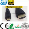 6 Ft Feet Micro HDMI to HDMI Male Cable (HL-128)