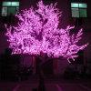 Luz decorativa da árvore da flor de cereja do diodo emissor de luz para o uso ao ar livre