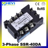 DC에 AC SSR-3D40A 40A SSR Relay Input 3-32V AC Output AC480V Three Phase Solid State Relay