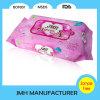 Wipes molhados barato macios do bebê do OEM da fábrica de China (BW011)