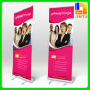 Projetar Advertizing Banners Roll acima de Banner Stand Display