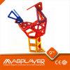 조합 Magformers Magnetic Building Set Special Magnet와 ABS