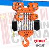 ce électrique d'élévateur à chaînes d'interpréteur de commandes interactif en aluminium lourd de 220V 380V 415V