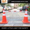 ABS 2.2 contadores del tráfico del cono de barrera ensanchable de la barra para la barricada del camino
