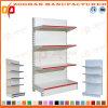 Scaffalatura di parete d'acciaio personalizzata Manufactured del negozio del supermercato (Zhs594)