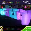 Colores de los muebles del LED con las baterías y teledirigido multi