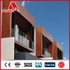 Paneles Panel compuesto de Calidad Superior de Madera Frente de aluminio de madera de pared